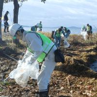 琵琶湖における環境保護活動を実施、計画していきます。(6.6)
