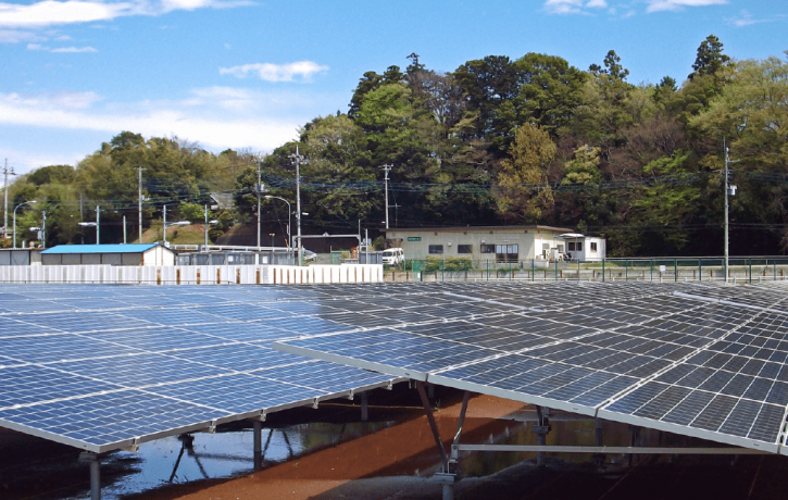 再生可能エネルギー供給施設の維持管理に貢献しています (7.2)